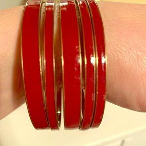 Set of 5 bangle bracelets!